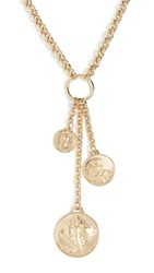 Paco Rabanne Manta Necklace Yellow Gold