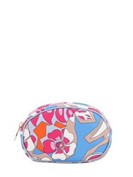 Emilio Pucci Small Printed Makeup Bag Fuchsia