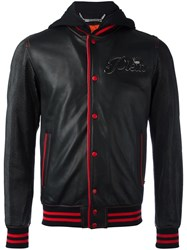 Philipp Plein Troublemaker Bomber Jacket Black