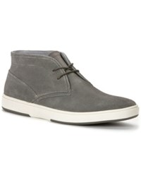 Calvin Klein Lyle Wedge Chukka Boots Men's Shoes Grey