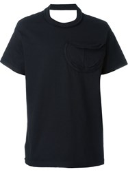 Telfar Cut Out Shoulder T Shirt Black