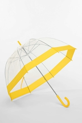 Urban Outfitters Bubble Umbrella Yellow