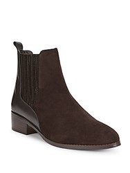 Donald J Pliner Almond Toe Ankle Boots Brown