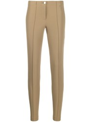 Cambio Slim Fit Trousers Neutrals