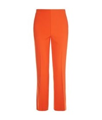 Whistles Selby Cropped Trousers Red