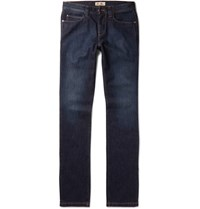 Loro Piana New York Stretch Denim Jeans Navy