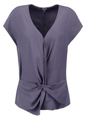 More And More Blouse Cloudy Grey Anthracite