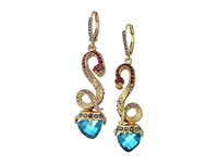 Betsey Johnson Multi Snake Linear Earrings Multi Earring