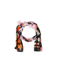 Grey Daniele Alessandrini Accessories Oblong Scarves Women Pink