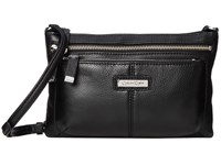 Calvin Klein Key Item Leather Crossbody Black 2 Cross Body Handbags
