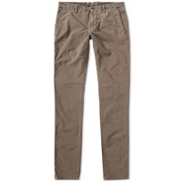 Incotex Skin Fit Summer Uniform Chino Brown