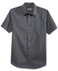 American Rag Men's Rodriguez Shirt Only At Macy's Grey Eagle