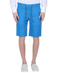 Hilton Trousers Bermuda Shorts Men Azure