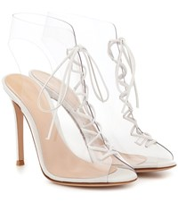 Gianvito Rossi Helmut Ankle Boots White