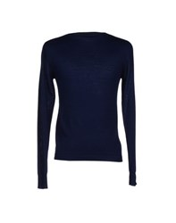 Junk De Luxe Knitwear Jumpers Men Dark Blue