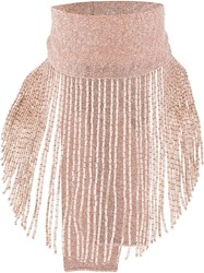 D.Exterior Beaded Scarf Style Necklace 60