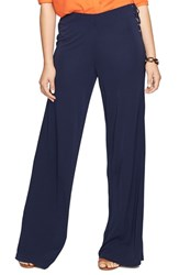Plus Size Women's Lauren Ralph Lauren Lace Up Wide Leg Pants