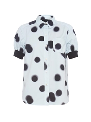 Marc By Marc Jacobs Blurred Dots Print Shirt