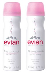 Evian Mini Facial Water Spray Duo