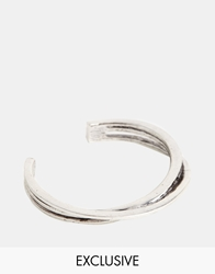 Designsix Bangle Bracelet Exclusive To Asos Silver