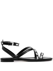 Michael Michael Kors Buckled Logo Sandals 60