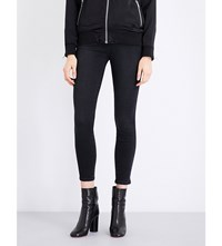 Ksubi Spray On Skinny Mid Rise Jeans Backstage Black