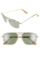 Randolph Engineering 'Intruder' 55Mm Polarized Sunglasses 23K Gold Gray