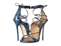 Dsquared Strappy Sandal Blue Women's Shoes