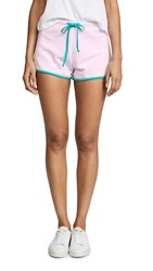 Wildfox Couture Pool Party Shorts Primrose Emerald