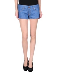 Monica Bianco Denim Shorts Blue