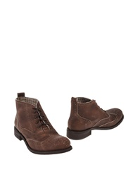 Emma Lou Ankle Boots Brown