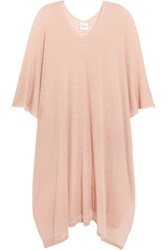 Madeleine Thompson Broom Cashmere Poncho Blush