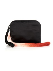 The Row Horsehair Ombre Tassel Wristlet Clutch