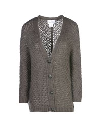 George J. Love Knitwear Cardigans Women Dark Blue