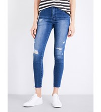 Ksubi High And Wasted Skinny High Rise Jeans Bestie Blue