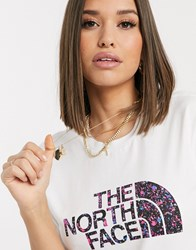 The North Face Boyfriend Easy T Shirt In White