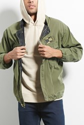 Forever 21 Cross Colours Utility Jacket Olive