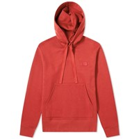 Acne Studios Ferris Face Hoody Red