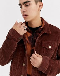 Brooklyn Supply Co. Co Cord Jacket In Brown