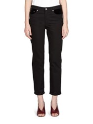Acne Studios Cropped Straight Leg Pants