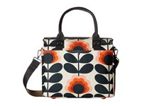 Orla Kiely Summer Flower Stem Zip Messenger Sunset Messenger Bags Multi