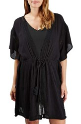 Topshop Women's Fringe Maternity Cover Up Caftan