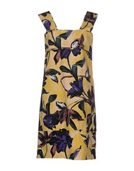 Marni Dresses Knee Length Dresses Women Yellow