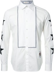 Education From Youngmachines Star Print Shirt White