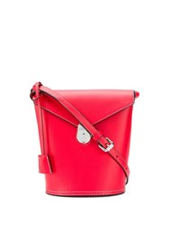 Calvin Klein 205W39nyc Hanging Tag Bucket Bag Red