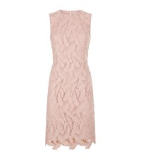 Emilio Pucci Feather Lace Dress Female Pink