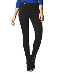 Karen Millen Sailor Style Leggings Black