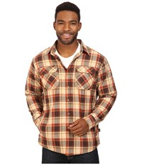 Kuhl Outrydr Long Sleeve Shirt Rustic Brown Men's Long Sleeve Button Up