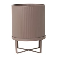 Ferm Living Bau Outdoor Plant Pot Dusty Rose Pink