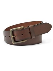 Fossil Artie Leather Belt Dark Brown